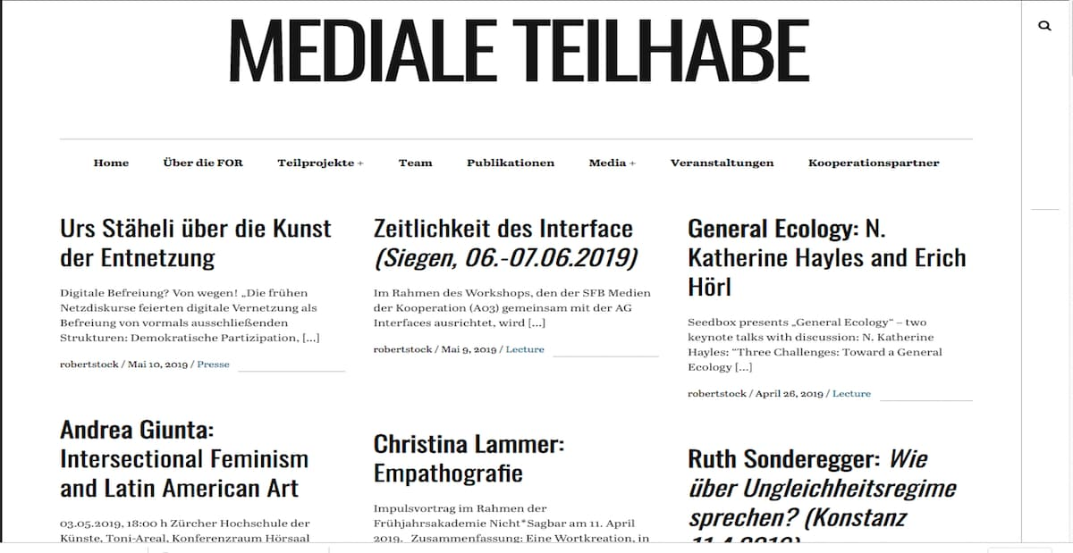 Mediale Teilhabe